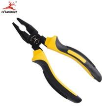 RDEER Cutting Pliers 6''/160mm Electrician Pliers Wire Strippers Shear Sharp Multi-tool Hand Tools Ferronickel Alloy