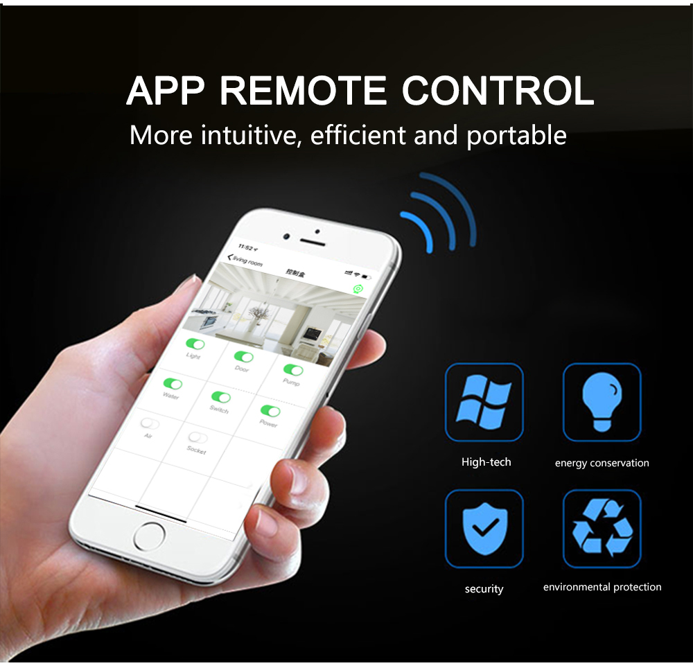 Smart Home Automation Module Controller Domotica Network Remote IP Relay Control Power Distribution 8 Output and Input System