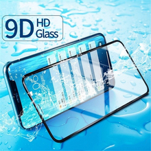 цена на Full Cover for iPhone glass screen protector 7 X XR XS 8 XS max glass for iphone 6 6s 7 8 plus screen protector Protective Film