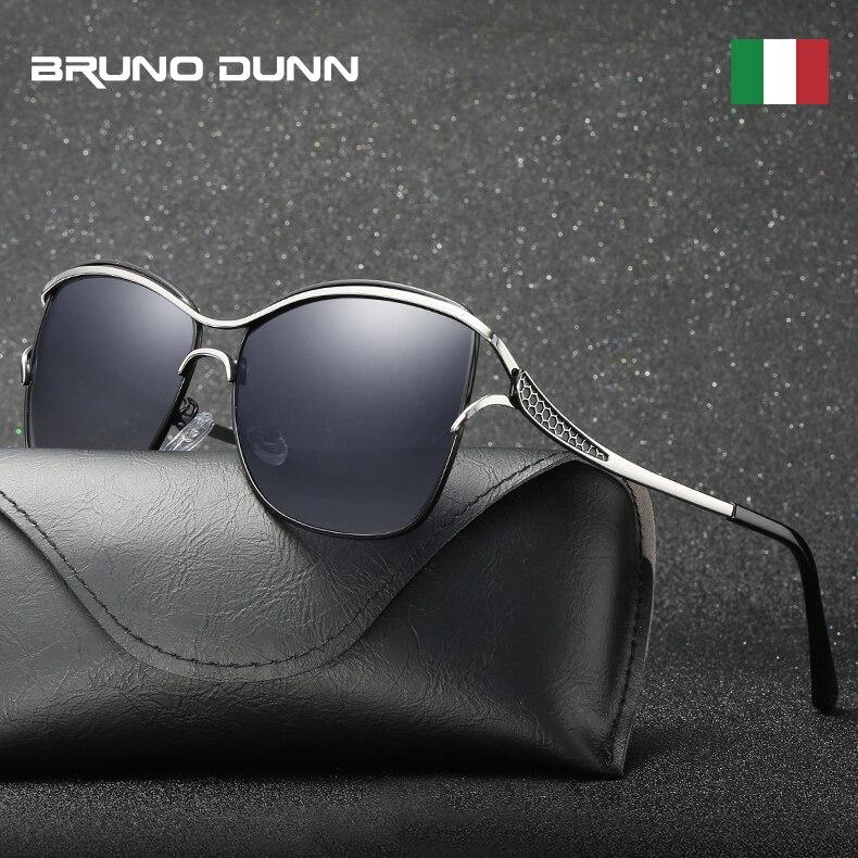 Bruno Dunn Polarized Sunglasses Women Sunglases Driving Sun Glases zonnebril dames lunette soleil femme oculos de sol feminino
