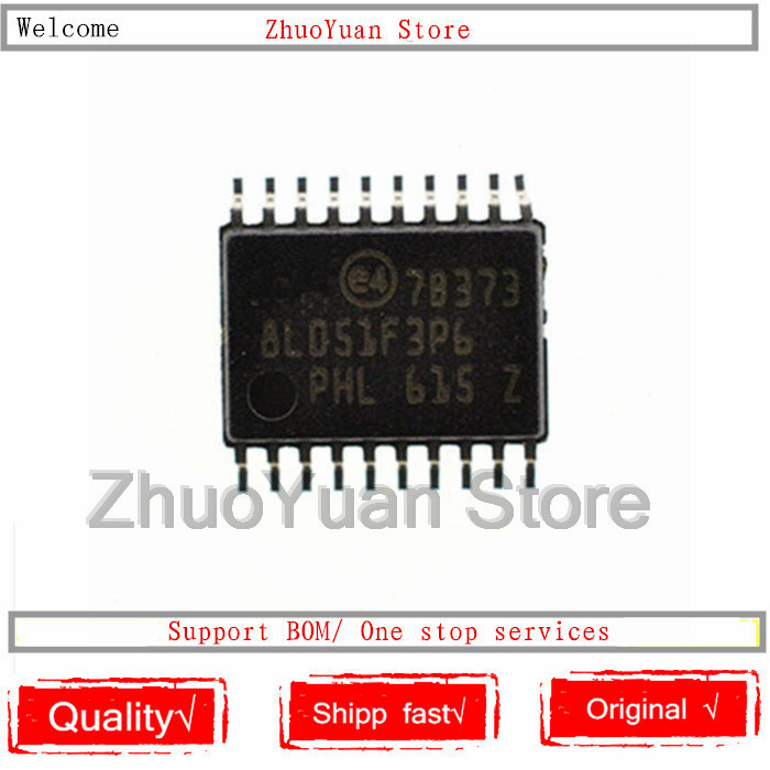1PCS/lot New Original STM8L051F3P6 8L051F3P6 STM8L051F3P6TR TSSOP-20 IC Chip