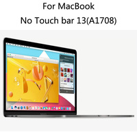 For No Touch Bar 13 Inch A1708 Laptop New Functional Type Anti Fall Impact Resistance Nano