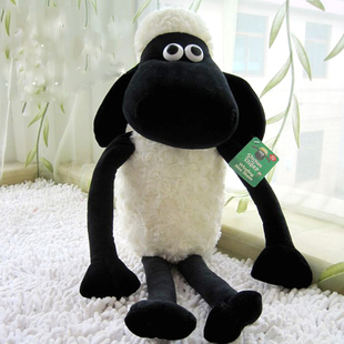 Free Shipping Hot Sale Very Cute NICI Sheep Creative Plush Stuffed Toy Shaun The Sheep Toy Doll 30cm 1pc Children Gift