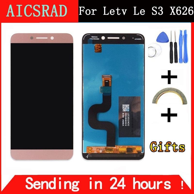 Für LeEco Le S3 X626 LCD Display Bildschirm Leeco X622 Display Bildschirm Geprüft Bildschirm Ersatz für LeEco Le S3 X622 x626 X522 5,5''
