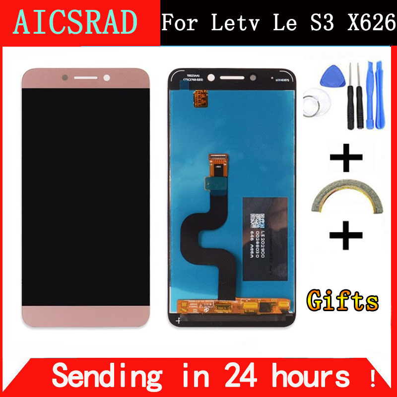 For LeEco Le S3 X626 LCD Display Screen Leeco X622 Display Screen Tested Screen Replacement for LeEco Le S3 X622 X626 X522 5.5''