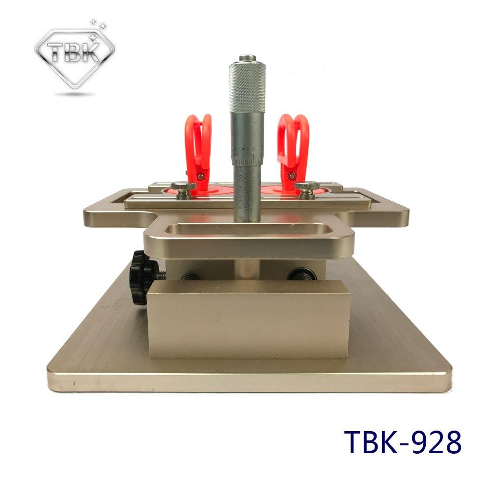 TBK-928 ЖК-дисплей демонтаж машины руководство a-сепаратор структуры для samsung точно настроить микрометр