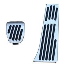 Противоскользящие автомобильные колодки подходят для BMW M3 M4 M6 E90 E91 F10 F12 F13 аксессуары ножной тормоз Топливный Газ педаль акселератора накладка алюминий