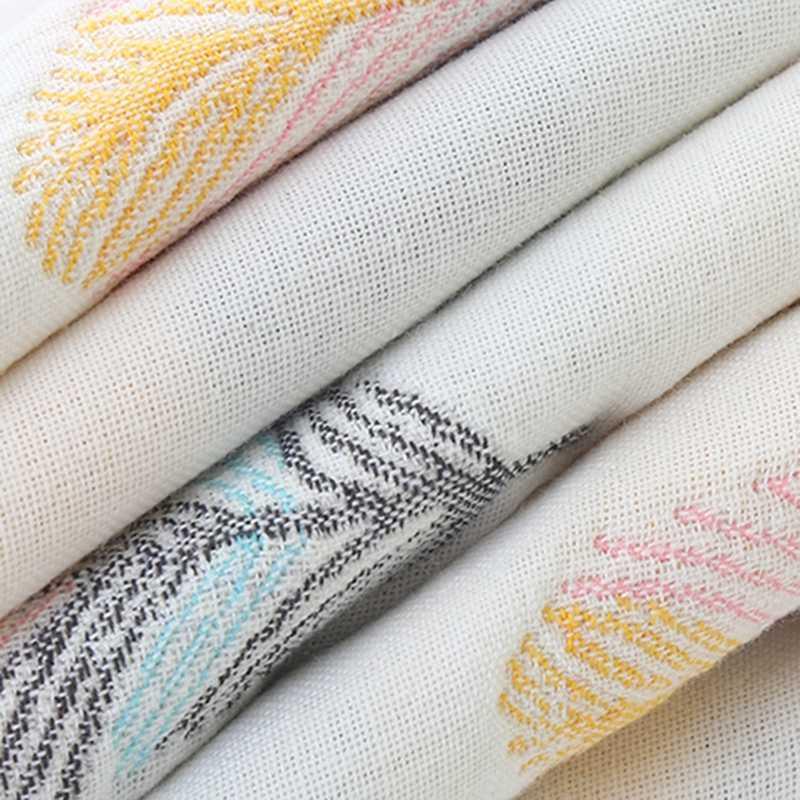 Новый 6 слоев детское одеяло Многофункциональный Хлопковые газовые гольфы до колена постельные принадлежности одеяло, одежда для осени для новорожденных; одеяло для новорожденных Детское банное полотенце