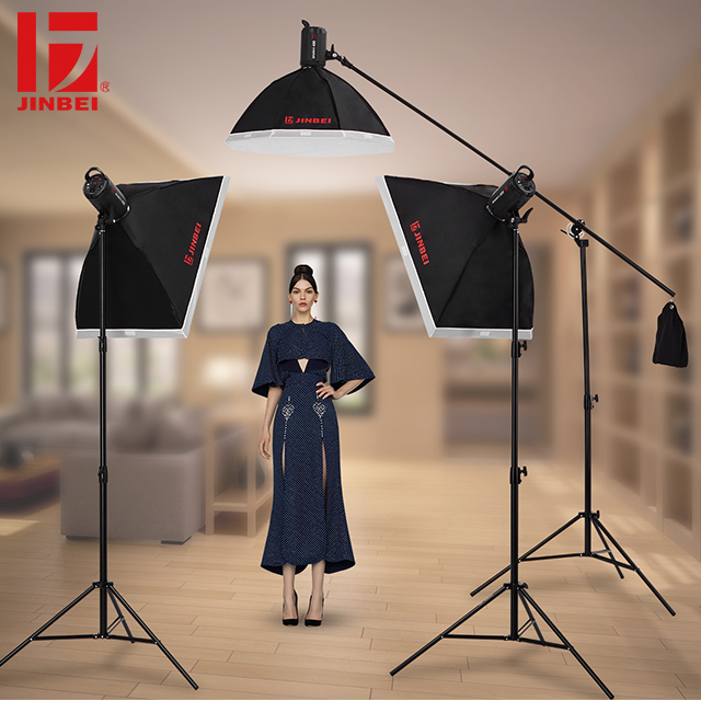 Image 5 - JINBEI SparkIII 400 400W Portable Strobe Flash GN66 with Built in Wireless Receiver LED Modeling Lamp Studio Wedding Commercial-in Flashes from Consumer Electronics