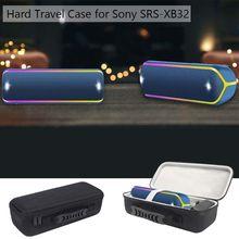 Carré Antichoc De Protection Rigide EVA Boîte pour Sony SRS XB32 Extra Bass Portable Haut Parleur Bluetooth Le Plus Récent