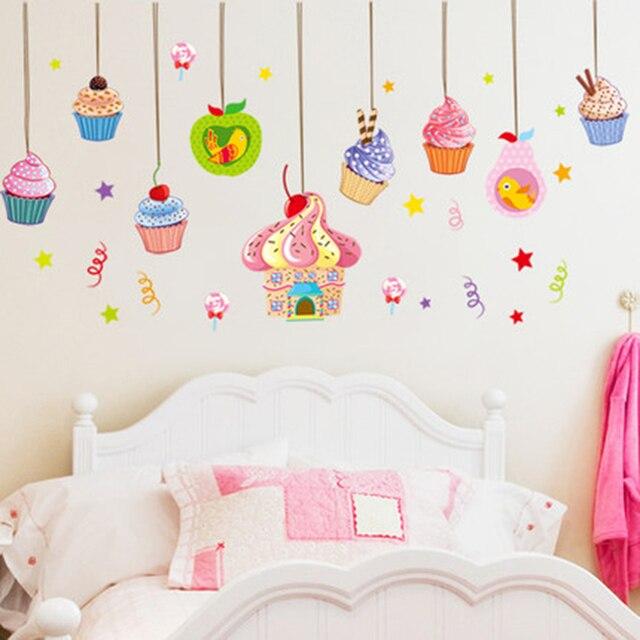 Incroyable Wandaufkleber Für Kinderzimmer Tier Mädchen Spiegel Wandaufkleber Für Das  Bad Schablone Für Wand Muursticker QQX212