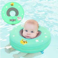 Baby Neck Float Free Inflatable Circle Baby Neck Float Circle For Swimming Accessories Infant Neck Ring Toy For Bathing Newborns