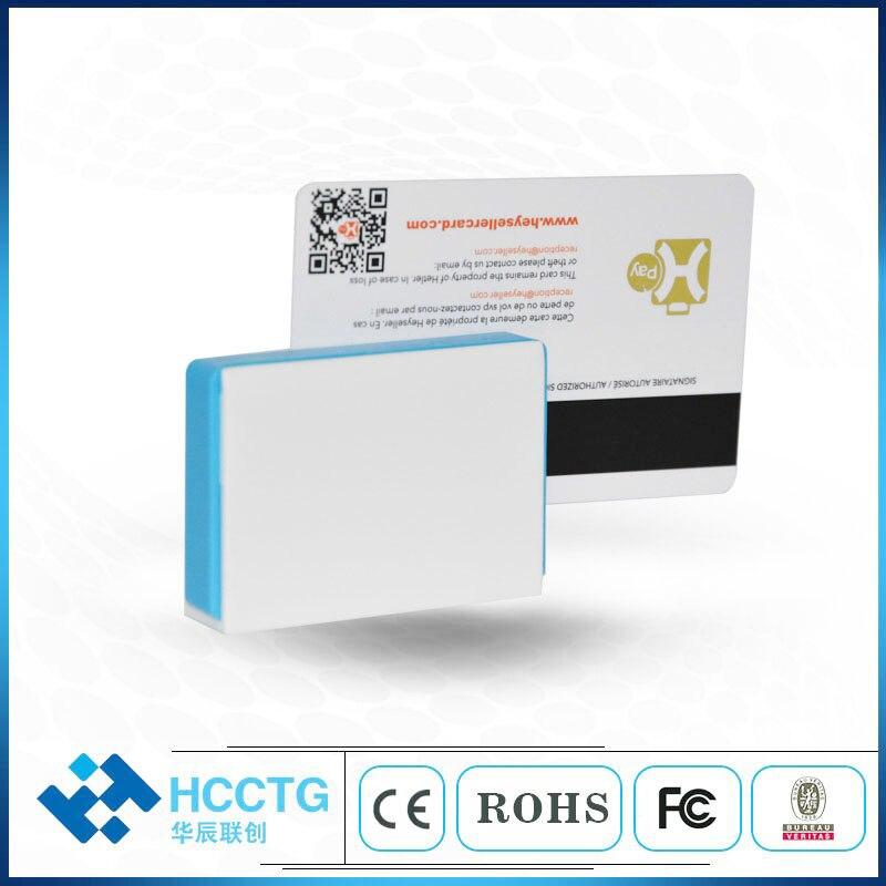 Lecteur de carte de crédit Mobile NFC + IC + MSR tout en un bluetooth lecteur de carte à puce RFID carte magnétique pour android et iOS MPR110 - 4