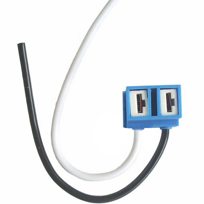 H7 Headlight Bulb Socket : Pcs h headlight bulb socket outlet ceramic lamp base