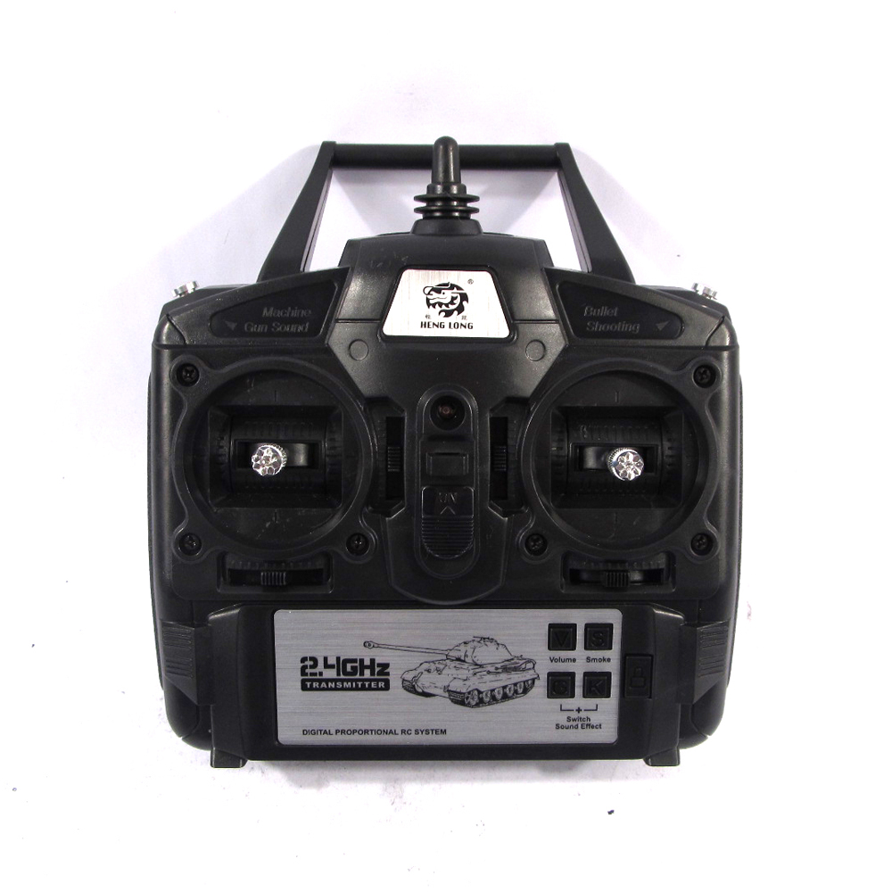 Heng Long Newest 2.4GHz 5.3 Version Controller 2.4GHz transmitter 2.4G remote control unit for 1:16 1/16 all henglong rc tank remote controller 2 4g rc transmitter for mjx x800 hexacopter
