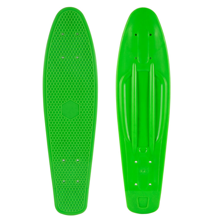 Skateboard Deck Plastic 22 Fits 22 inch Skate Board Pastel color ...