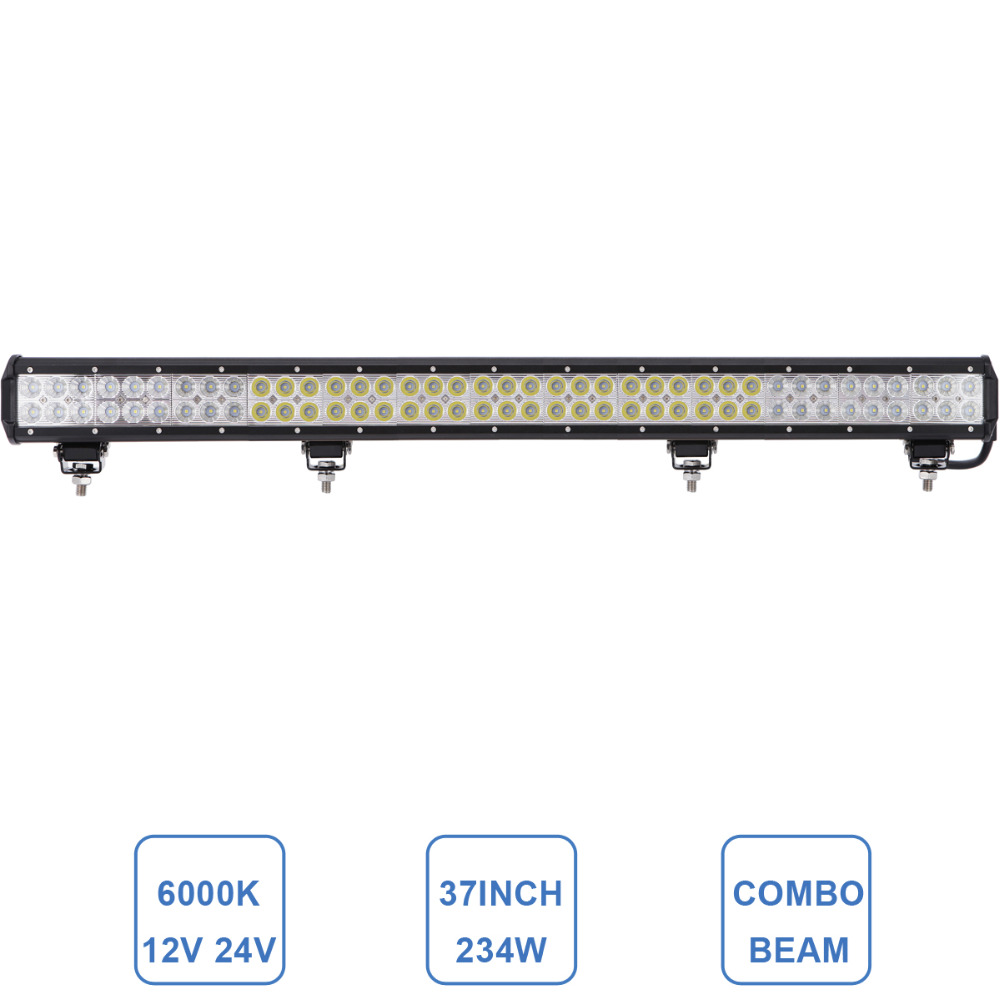 234W LED Light Bar Offroad Combo 37'' 12V 24V Driving Lamp 4X4 4WD ATV SUV Boat Wagon Pickup Truck UTE AWD Camper Auto Headlight 10w led work light 2 inch 12v 24v car auto suv atv 4wd awd 4x4 off road led driving lamp motorcycle truck headlight