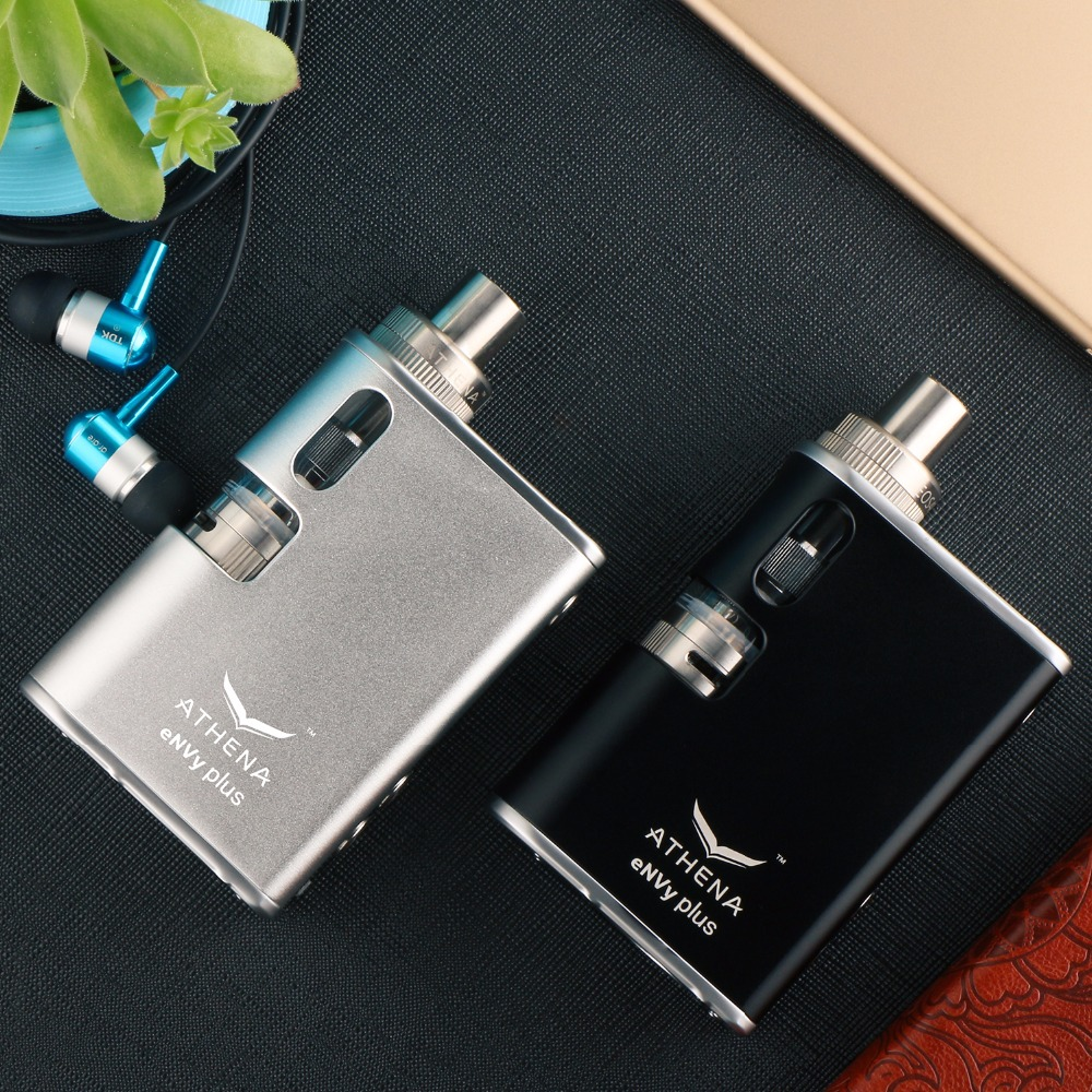 Prix pour Athena envy plus 75 w boîte mod cigarette électronique mod tout en un contrôle de la température remplaçable 18650 batterie