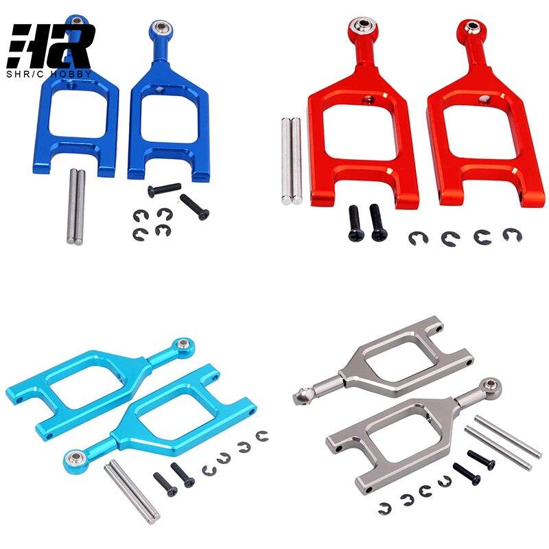 2pcs Aluminum Front Upper Suspension Arm 2P L/R L959-05 For WLtoys L959 L969 L979 K959 1/12 RC Car Upgrade Parts
