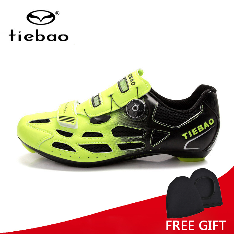 Tiebao Bicycle Cycling Shoes Breathable Men Women Road Bike Racing Athletic Shoes S2-Snap Tuning Knob Fastener zapatillas veobike men long sleeves hooded waterproof windbreak sunscreen outdoor sport raincoat bike jersey bicycle cycling jacket