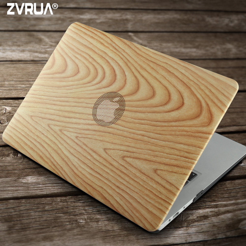 for Macbook 13 inch, ZVRUA PU Leather Laptop Cases for Mac Book Air Pro Retina 13.3 with Touch Bar New A1706 A1708
