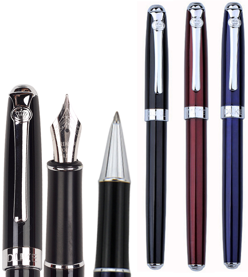 Fountain Pen or Gel RollerBall pen DUKE 933   office and school stationery Free  Shipping fountain pen m nib original japan pilot 88g office and school stationery 2016 new the best gifts free shipping