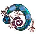Opalas azuis Esmalte Verde Gecko Lagarto Broches Corsage Broche Bouquet Enfeites Vestido de Noiva Clipe Pinos Bijoux Presentes Mulheres