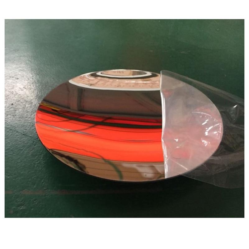 Plastic Acrylic Parabolic Concave Mirror Minor Focus UV Protection Sturdy Durable Refrective Reflector  1PC