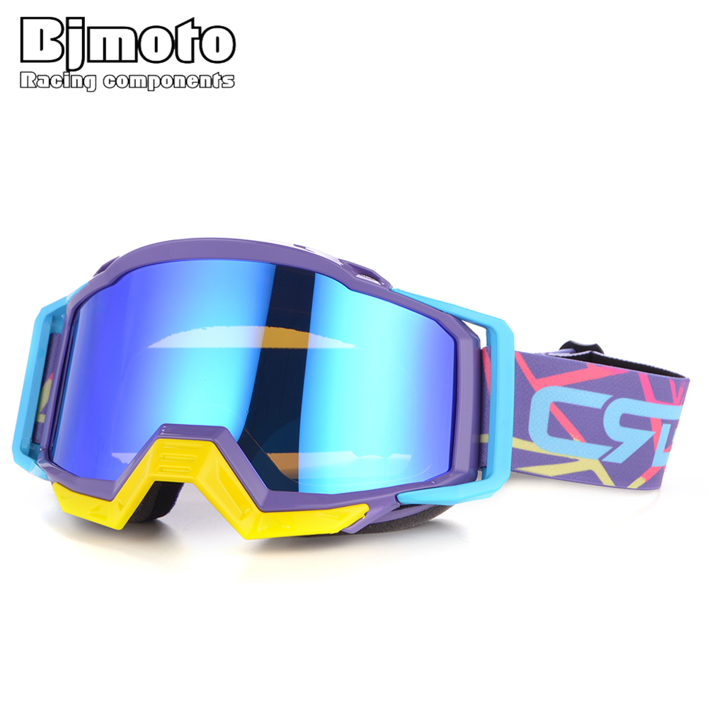 BJMOTO 2019 New Wan Women Oculos MX Motocross Goggles Glasses Offroad Dirt Bike Motorcycle Helmets Google Ski Glasses Sport Gafa