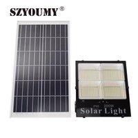 SZYOUMY 1PCS New HIGH Quality Outdoor Garden Solar Powered Lamp 25W 40W 60W 120W 200W Led Solar Flood Light with Remote Control
