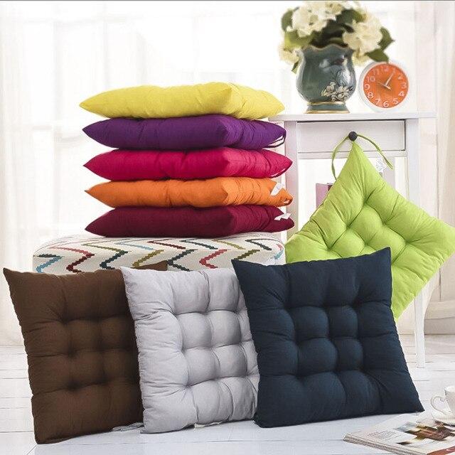 40X40 CM divano In Cotone cuscini cuscini di schienale sedile ...