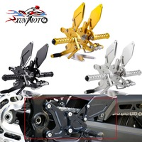 Motorcycle Adjustable Rider Rear Set Rearsets Footrest Foot Rest Pegs for 2018 Kawasaki Z900RS Z900 RS