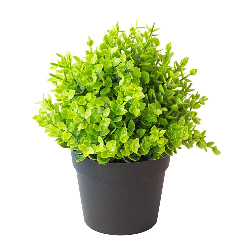1Pc Artificial Plant Bonsai Artificial Grass Greenery Potted Bonsai Home Office Garden Furniture Decor artificial flowers
