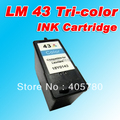 LM 43 (18Y0143E) color INK cartridge compatible for lexmark 40 LM43 X4850/4875/4950/4975/6570/6575/7550/7675/9575 freeshipping