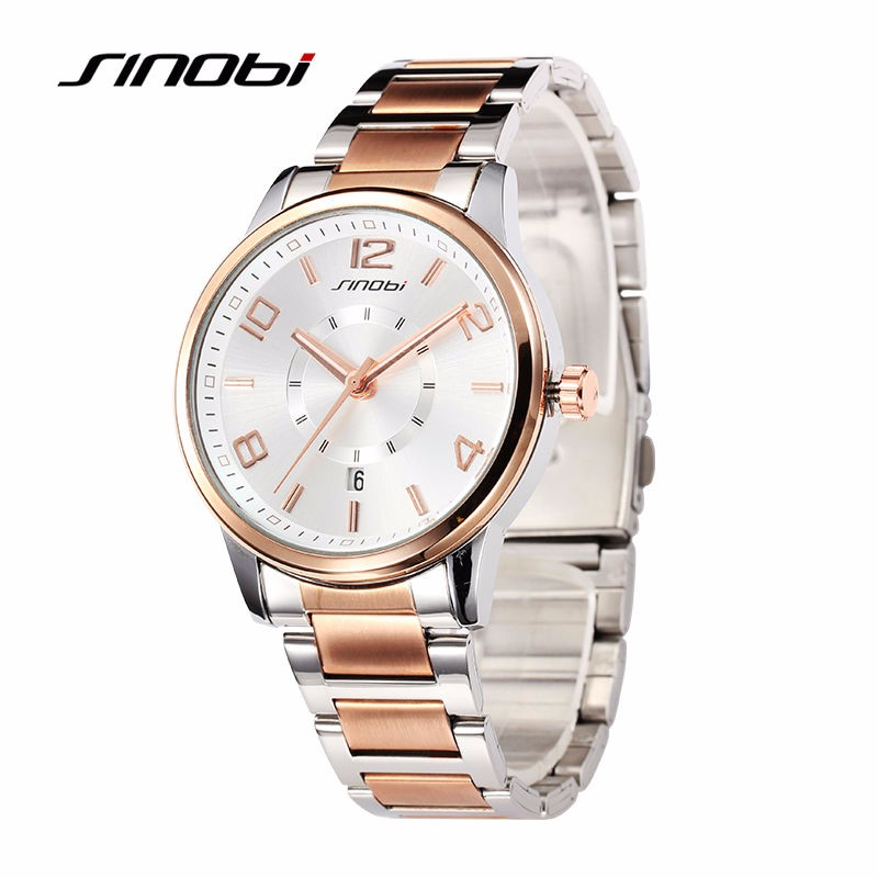 SINOBI-Mens-Business-Wrist-Quartz-watches-Rose-Gold-Steel-Automatic-Wristwatches-Gents-Waterproof-Designer-Watches-Montre
