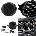 New Clear Air Cleaner+Intake Filter Syetem Rough Crafts Harley Sportster XL883 1200 2004-2015 Custom Free Shipping