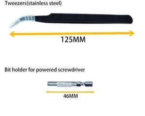Image 5 - 115 en 1 puntas destornillador precision atornillador brocas juego de kit destornilladores de precisi n carraca ofertas relampago torx profesional xiaomi screwdriver set pequeño imantador magnetizador desmagnetizador