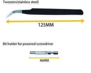 Image 5 - 115 in 1 Precision Screwdriver Bit Set Multi Function hand tools destornillador ratchet Torx screw driver set adaptador de punta