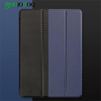 GOOJODOQ Cover for iPad Mini Case Silicone Soft Back for Apple iPad Mini 4 Case 7.9 inch Carbon Fiber for iPad Mini 4 3 2 1 Case