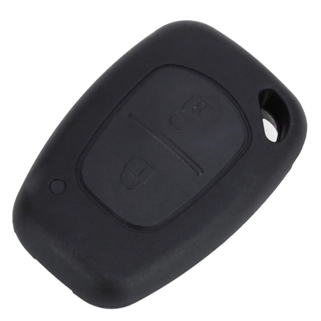 C40 Car Remote Key Holder Case Shell 2-button Protecting Cover Suitable for Renault Protect Buttons From Excessive Wear