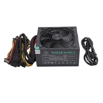 165-260V Max 1000W Power Supply Psu Pfc 14Cm Silent Fan 24Pin 12V Pc Computer Sata Gaming Pc Power Supply For Intel Amd Comput
