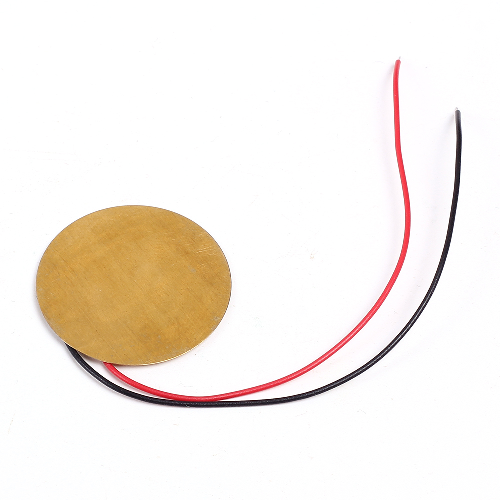 10pcs Lot 27mm Piezoelectric Buzzer Piezo Elements Sounder Sensor Sounders Buzzers Are Sound Components Prepared By Trigger Drum Disc Copper Wire In Integrated Circuits From Electronic