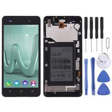 LCD Screen and Digitizer Full Assembly with Frame for Wiko Lenny 3