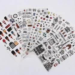 Европейский стиль дорожный дневник бумажная наклейка украшения дневник в стиле Скрапбукинг этикетка наклейка Kawaii корейские канцелярские