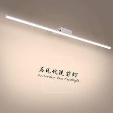 цена на Modern Simple Mirror light for bathroom LED Wall lamp Aluminum fixtures Wall lighting for makeup barbershop dressing table