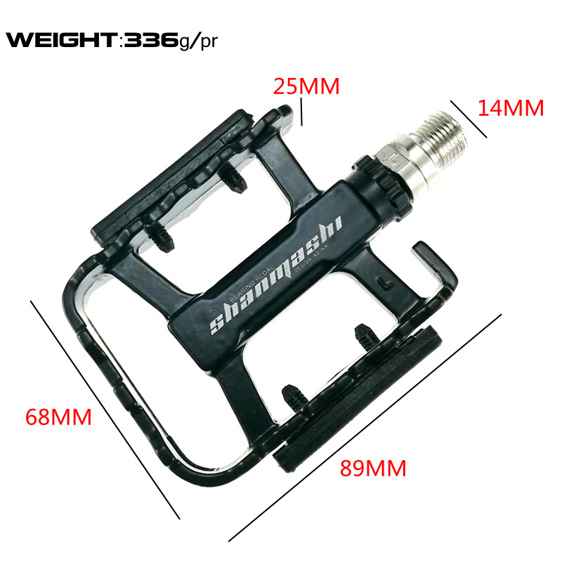 SMS Bicycle Pedals Aluminium Folding Bike Pedals Ultralight Cycling Fixed Gear