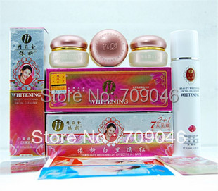 YIQI beauty whitening cream yiqi 2+1 effective in 7days free shipping(3rd generation)-in Sets from Beauty & Health    1