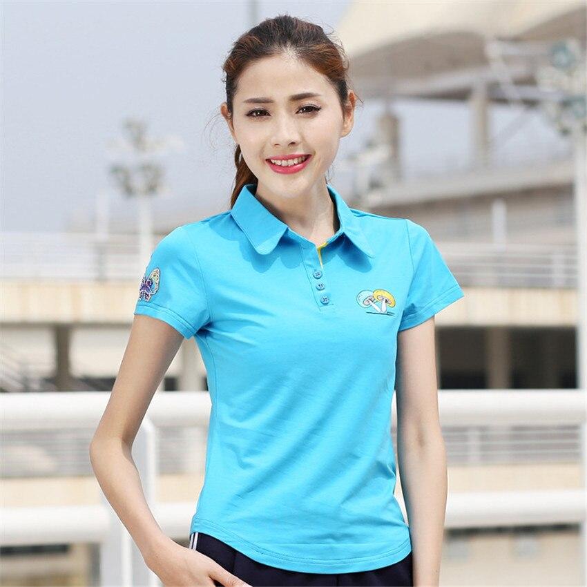 Overhemd Zomer.Fashion Womens Poloshirts Korte Mouw Polo Vrouw Polo Overhemd Zomer