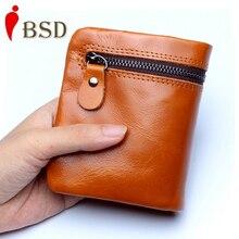 Женщин бумажника новый доллар цена кошелек из натуральной кожи бумажник дизайнер кошелек высокого качества держатель карты большой емкости бумажник моды