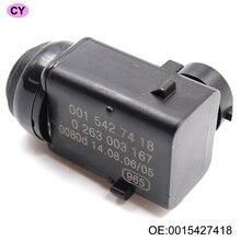 Nuevo sensor de Distancia de Aparcamiento Sensor PDC 0015427418 Para Mercedes W203 W209 W210 W211 W215 W220 W163 W168 W 251 S203 C203 Genuino!